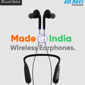 Plugtech Go Neck Wireless Neckband Made in India